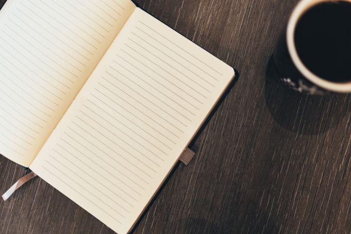 notebook-writing